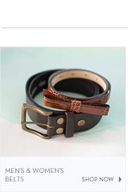 Men's & Women's Belts