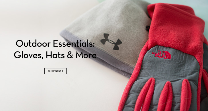 Under Armour, Columbia, The North Face (Past Seasons' Styles) and more!