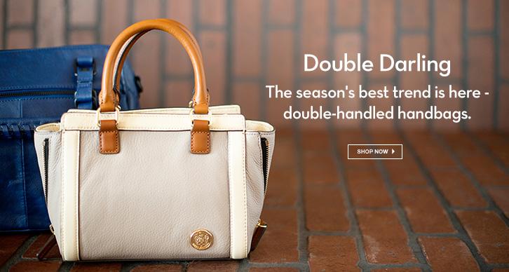 Double handle bags under $100
