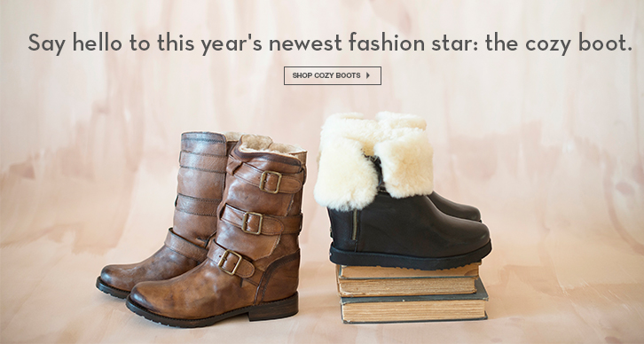 Shearling Boots