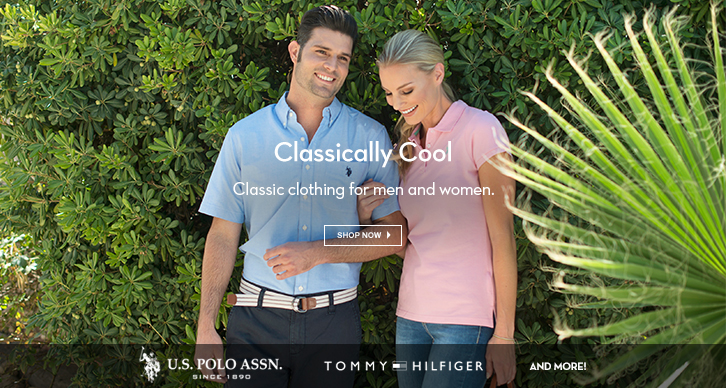 Classic clothing for men and women.