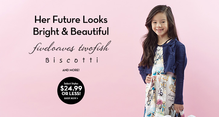 Girls' $24.99 or less