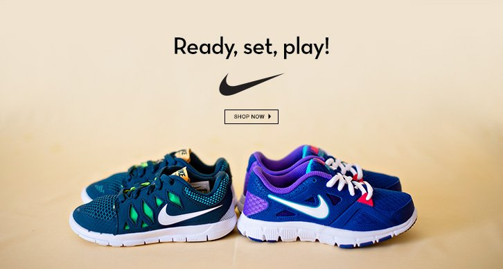 nike kids: ready, set, play!