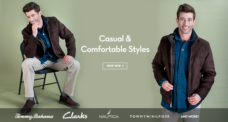 Casual & Comfortable Styles