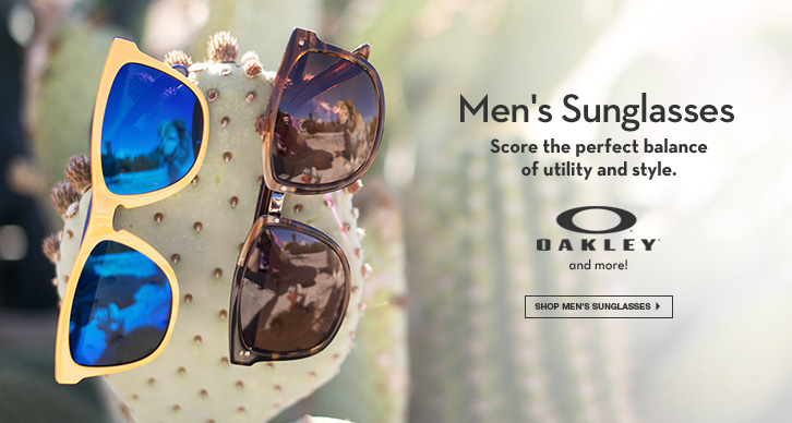 Men's Sunglasses: Score the perfect balance of utility and style