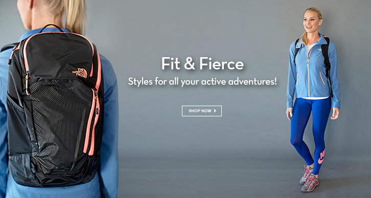 Styles for all your active adventures!