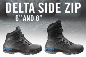 Bates Men's Delta-6 Side Zip Work Boot