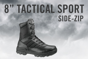 Bates Men's Ultra-Lites 8 Inches Tactical Sport Side Zip Work Boot