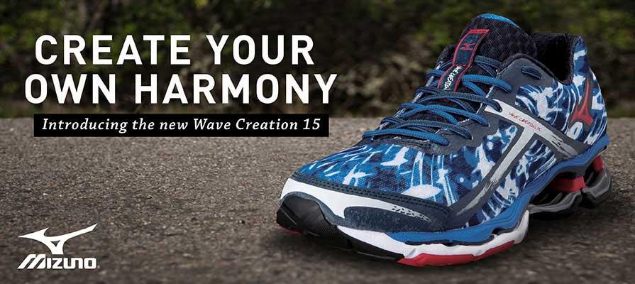 Mizuno Men's Wave Creation 15 Running Shoe
