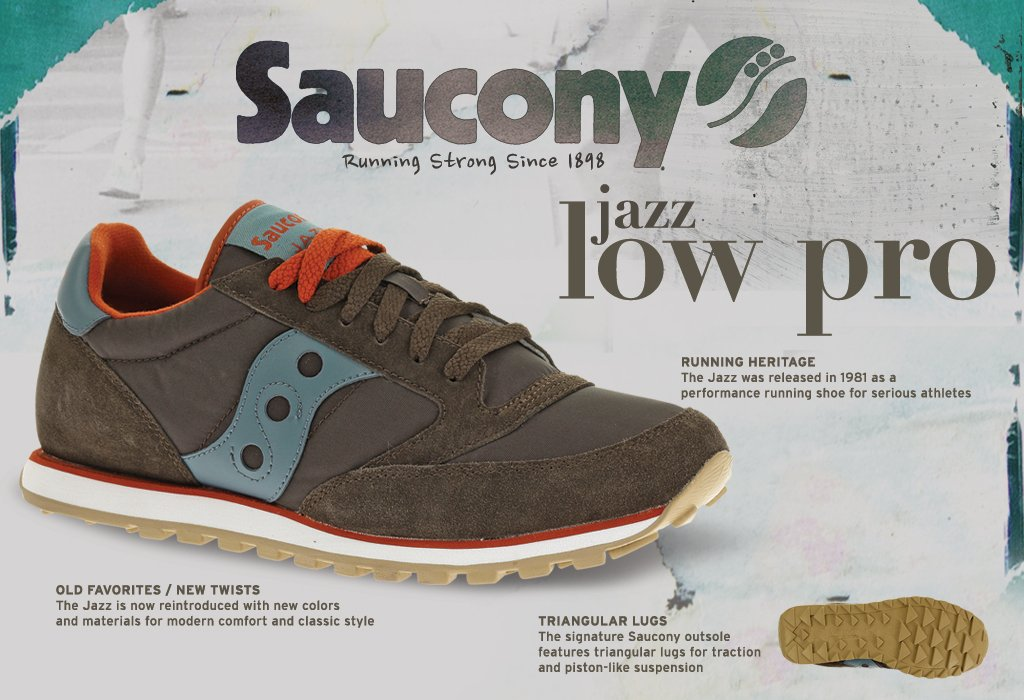 Amazon.com: Saucony Originals Men's Jazz Low Pro Sneaker: Shoes