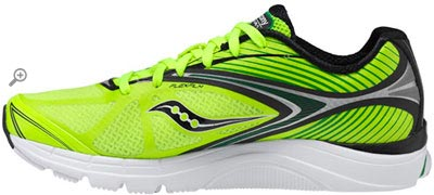 Saucony Kinvara 4 Running Side