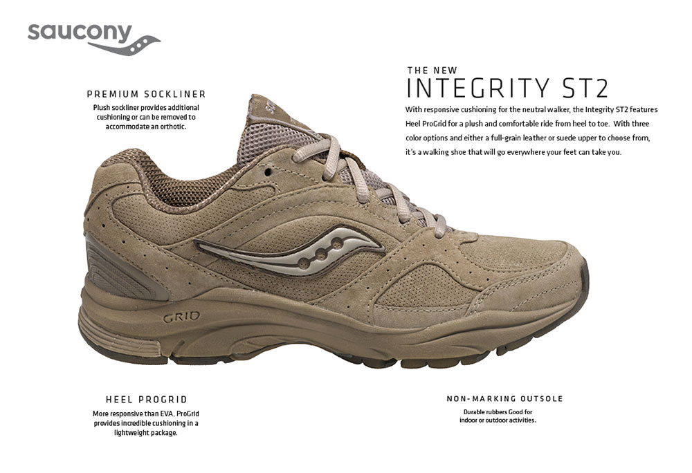 saucony saucony s integrity st2 walking shoe shoes