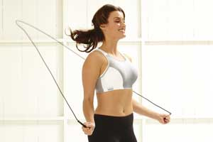 Sports Bra Jumping Rope