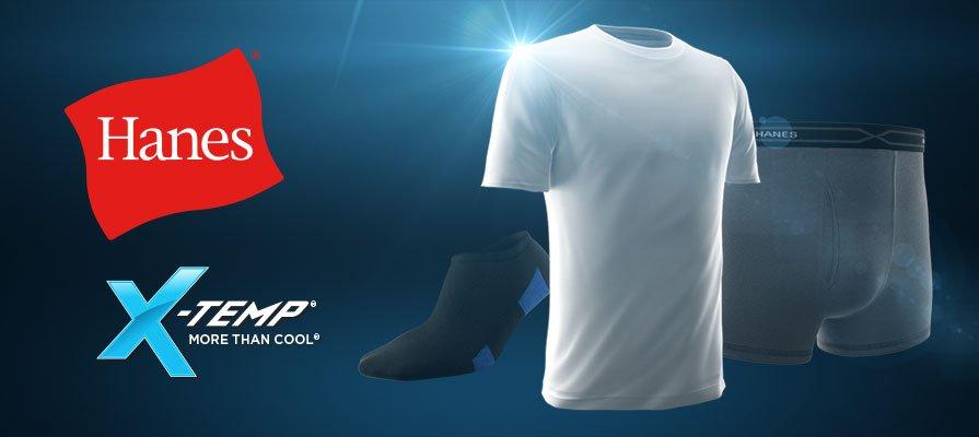 Hanes X-Temp More Than Cool
