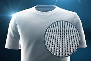 Hanes X-Temp Fabric Close-Up