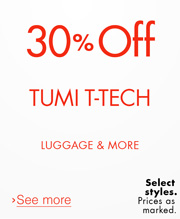 30% Off Tumi T-Tech