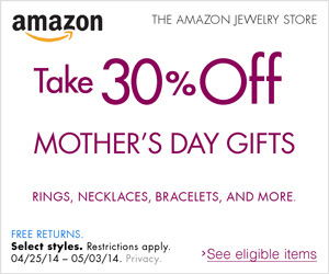 Jewelry Gifts for Her - See Featured tab for links & banners