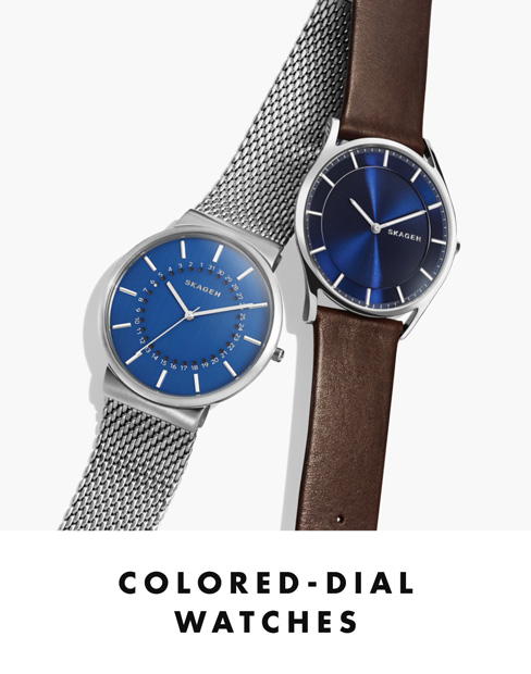 Colored-Dial Watches