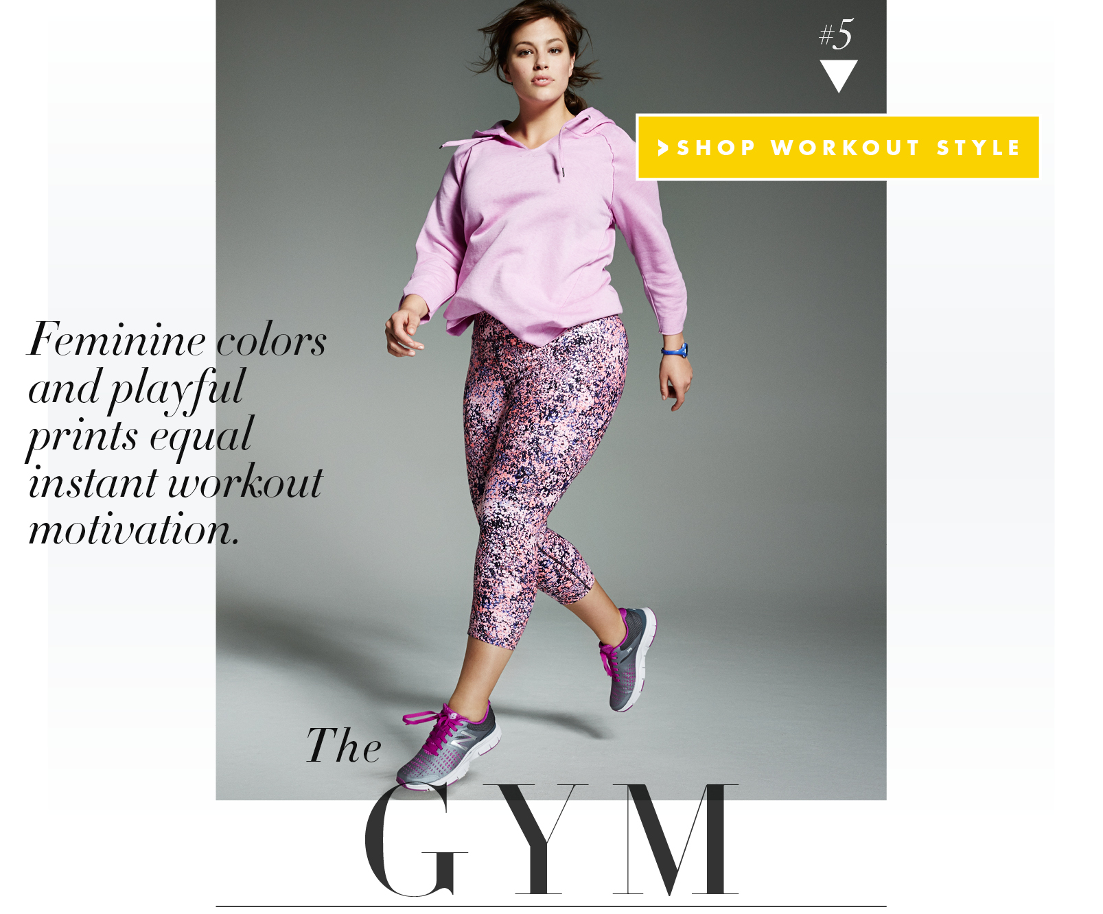 Ashley Graham's Workout Style