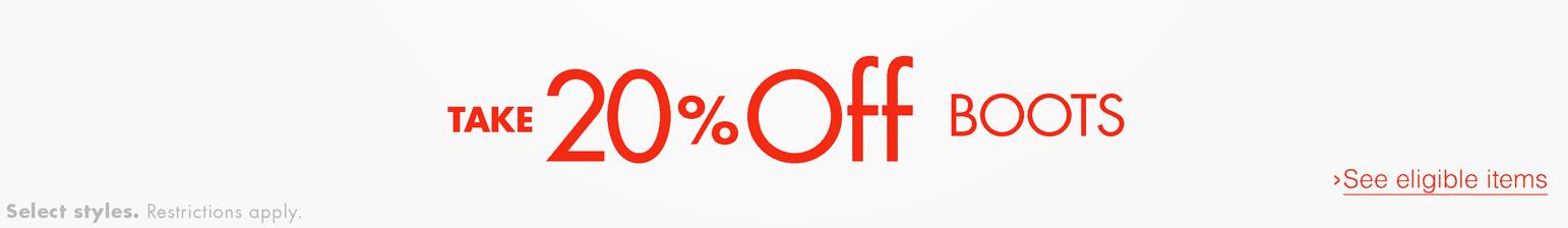 Black Friday 20% off Women's Clothing