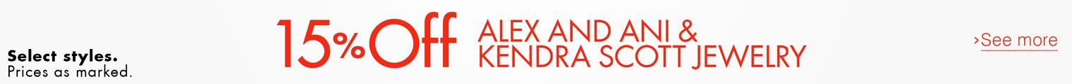 15% Off Alex & Ani Jewelry