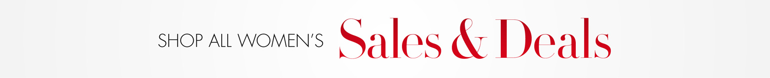 Shop All Women's Sales and Deals