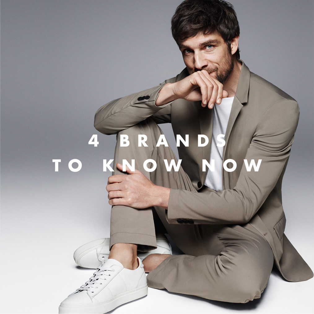 Four Men's Brands to Know Now
