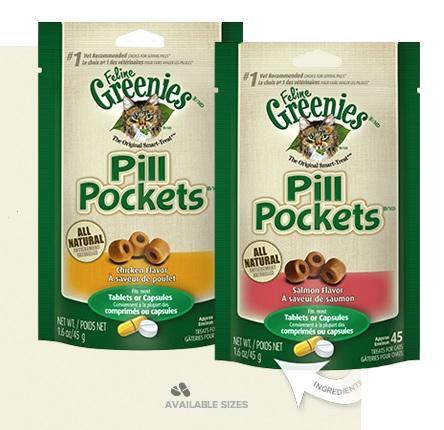 Amazon Com Feline Greenies Pill Pockets Treats Chicken