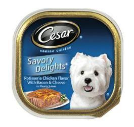 Caesar Chicken Liver Dog Food