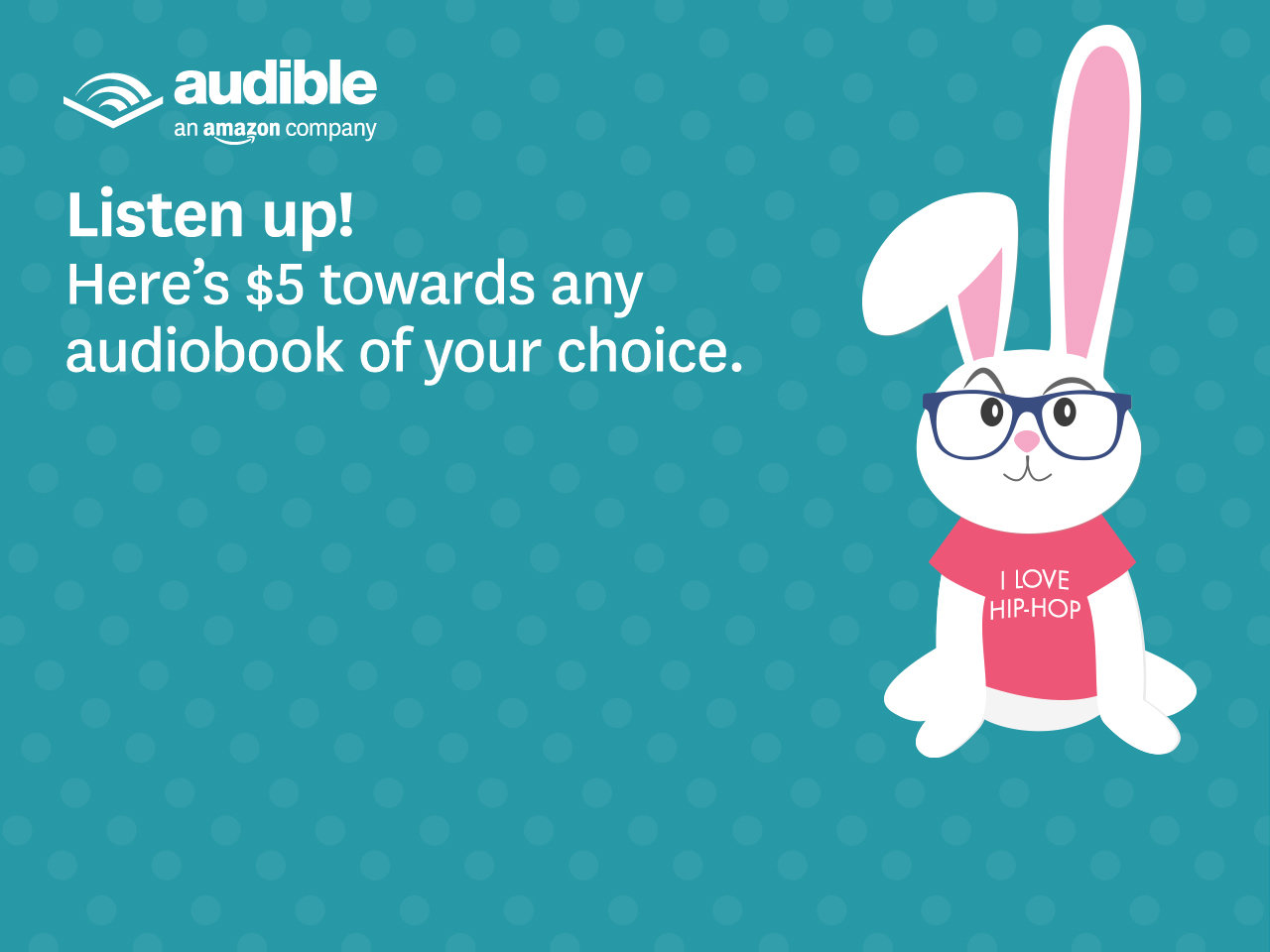The trial gives new members two free Audible credits. Create an Audible account to complete the purchase. Provide a valid check card or credit card number and expiration date. The card number is kept on file for the duration of the membership. As of March , Audible charges a .