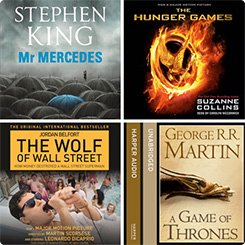 Great listens book covers
