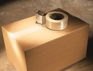 Box sealed with Scotch Filament Tape 8959