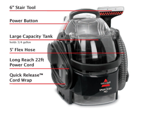 Bissell Spot Clean Pro Portable Deep Cleaner