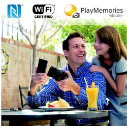Smartphone remote control & sharing via NFC & Wi-Fi