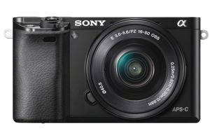 α6000 Mirrorless Interchangeable-lens Camera w/ 16-50mm lens