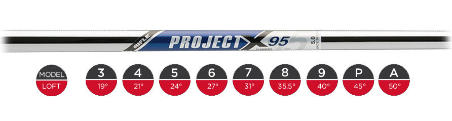 Project X 95 Flighted Shaft