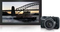 Canon EOS M Digital Camera with Lens at Amazon.com