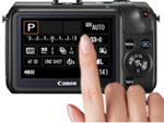 Canon EOS M Touch LCD at Amazon.com