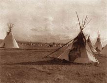 Piegan Encampment