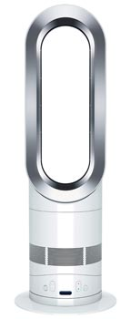 dyson am04 hot cool heater table fan white. Black Bedroom Furniture Sets. Home Design Ideas