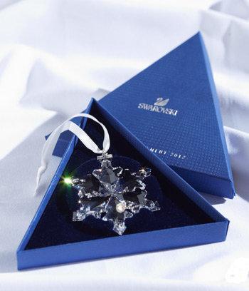 SWAROVSKI 施华洛世奇 2013限量版大雪花水晶挂件,$59.99