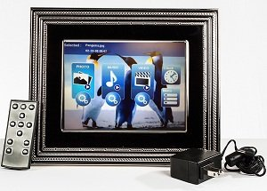 8-Inch Vera Wang Love Noir Digital Photo Frame