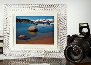 8-Inch Waterford Crystal Digital Photo Frame