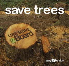 Save Trees - Use More zBoard