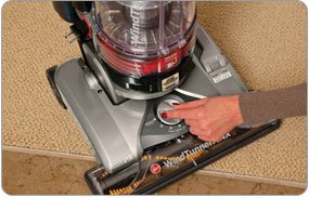 Hoover WindTunnel MAX Pet Plus Multi-Cyclonic Bagless Upright - 7 floor settings