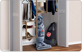 Hoover Floormate Hard Floor Cleaner - Easy Storage with Folding Handle