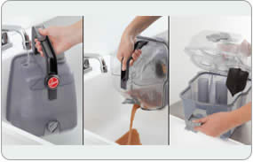 Hoover Power Scrub Deluxe Carpet Washer - Nozzle