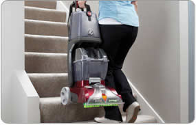 Hoover Power Scrub Deluxe Carpet Washer - Lightweight under 19 pounds