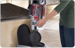 Hoover WindTunnel Max Multi-Cyclonic Bagless Upright Vacuum - 20 inch extension wand