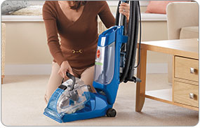 Hoover Max Extract 77 Multi-Surface Pro Carpet & Hoover Quick and Light - Easy Access to Tanks